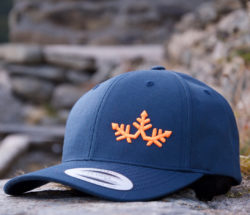 Curved-Cap-blue
